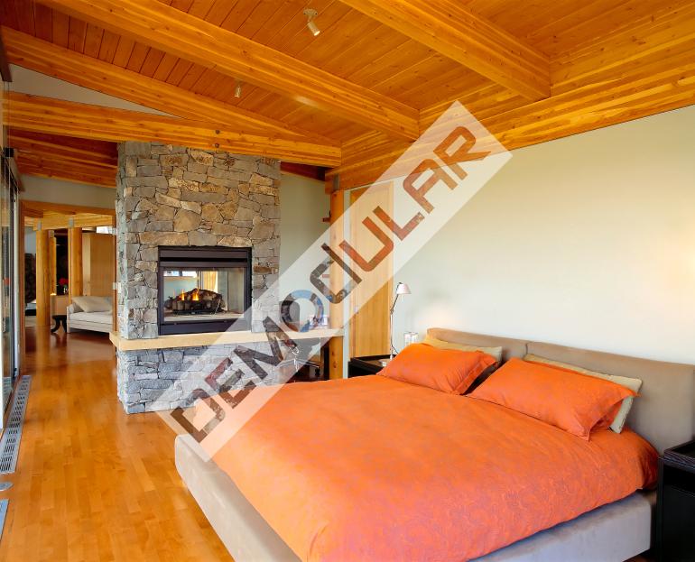 Casas modulares de madera